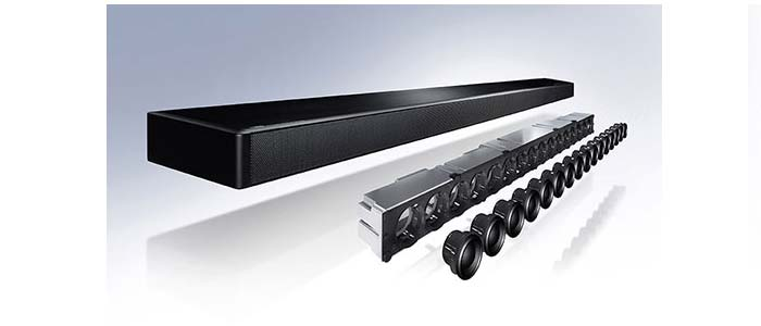 yamaha ysp 2700 soundbar mit 7 1 surround sound audiovision. Black Bedroom Furniture Sets. Home Design Ideas