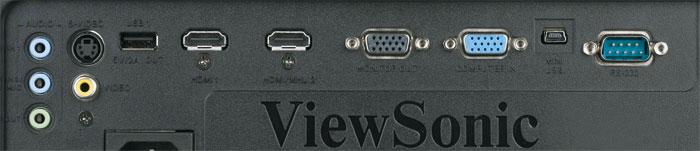 Flexibler Alleskönner: Der zweite HDMI-Eingang unterstützt den MHL-Standard. Vorne versteckt sich im Gerät sogar ein dritter HDMI-Port inklusive USB-Stromversorgung für den optionalen WLAN-Dongle. Eine der Miniklinken-Buchsen kann sogar für ein Mikrofon mit Pegelfunktion konfiguriert werden – ideal für mobile Einsätze und Veranstaltungen.