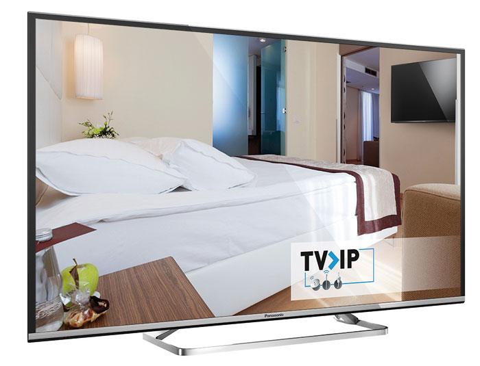 TV-IP heißt der neue Empfangsweg in Flachbildfernsehern von Panasonic.