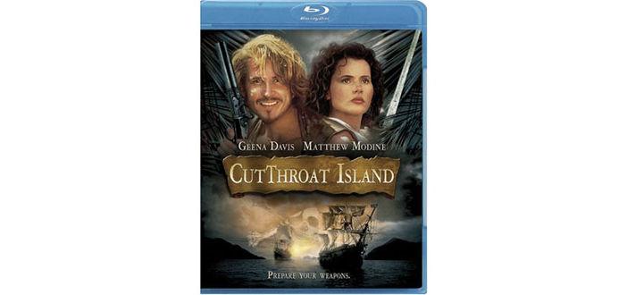 """""""Die Piratenbraut"""" ist auf  Blu-ray derzeit nur in den USA  erhältlich, nennt sich dort allerdings """"Cutthroat Island""""."""