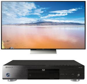 Wer skaliert besser: Sony-Fernseher oder Pioneer-Blu-ray-Player?