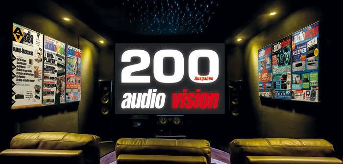 200 Ausgaben audiovision: Das große Special