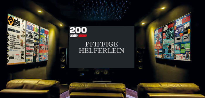 200 Ausgaben audiovision: Pfiffige Helferlein
