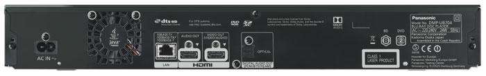 Analog ade: Verfügte der UB900 noch über vergoldete Cinch-Ausgänge für 2.0- und 7.1-Sound, liefert der UB704 den Ton nur in digitaler Form an den Receiver – entweder per Lichtleiter oder über einen der beiden HDMI-Ausgänge. Der Lüfter bläst die Abluft nahezu unhörbar aus dem Gehäuse.