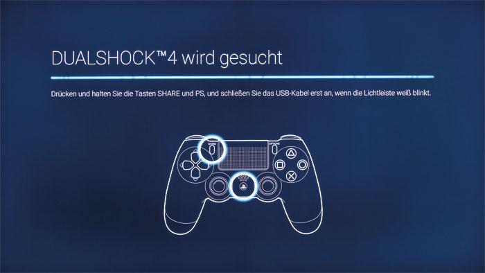 Spielen leicht gemacht: Besitzer einer PlayStation 4 können den Controller mit dem TV-Gerät verbinden und sind somit nicht auf die Fernbedienung angewiesen.