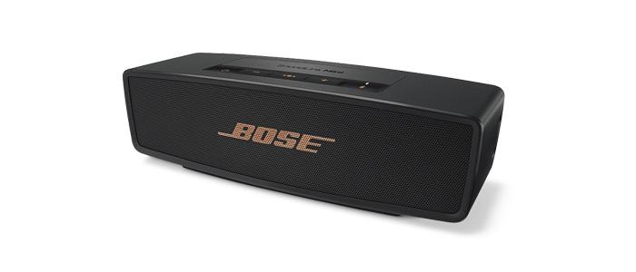 """Bose SoundLink als limitierte Farbedition """"Schwarz/Kupfer"""""""