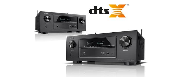 DTS:X Update für Denons AVR-X2300W und AVR-X3300W verfügbar