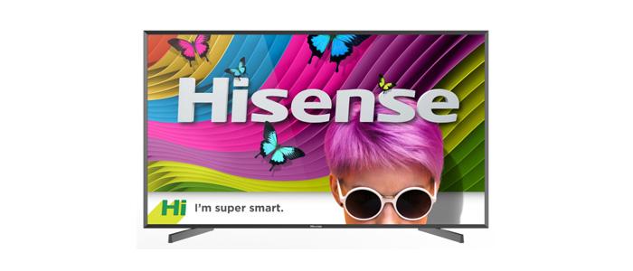 Hisense 86 Zoll UHD TV mit HDR10