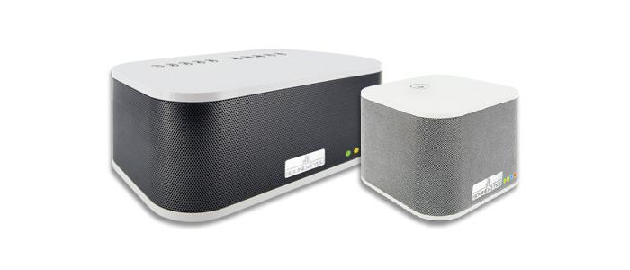 Schwaiger Multiroom Speaker HAS210 und HAS110