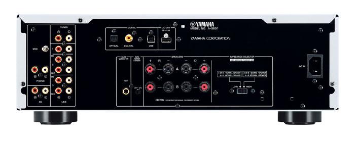 Yamaha A-S801 Rückseite