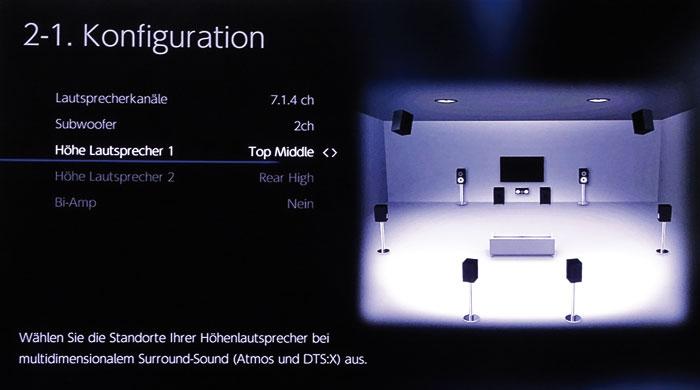 """Bei vorderen """"Top Middle""""-Boxen werden die hinteren Höhenboxen automatisch als """"Height"""" definiert."""