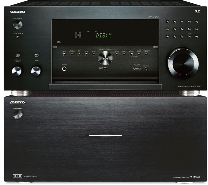 onkyo pr rz5100 pa mc5501 test audiovision. Black Bedroom Furniture Sets. Home Design Ideas
