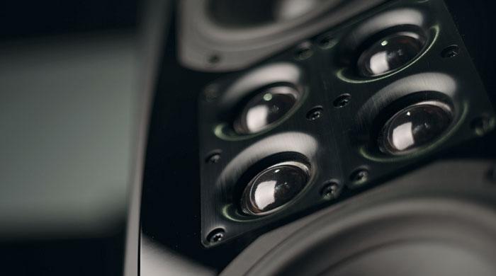 Statt eines Hochtöners setzt XTZ bei der Cinema M6 deren vier im Quadrat angeordnet ein, das sogenannte Quattro Array.