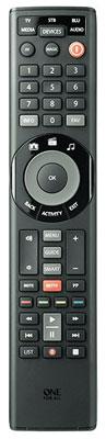 Die One for All Smart Control 5 URC 7955 bietet drei Möglichkeiten zur schnellen Inbetriebnahme, unter anderem auch per App.