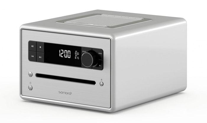 Das hochwertige Gehäuse des Sonoro CD2 besteht aus Holz und ist handgeschliffen. Die Ecken sind abgerundet. Zur Auswahl stehen zehn Farben.