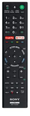 Flachkopf: Die Tasten des Sony-Signalgebers stehen nur geringfügig aus dem Gehäuse heraus. Abgesehen vom eingebauten Mikrofon für Sprachbefehle bietet er keine interaktiven Steuermöglichkeiten.