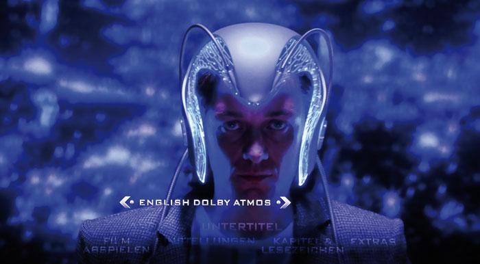 Die UHD-Blu-ray bietet bei englischer Sprachwahl Dolby Atmos-Ton. Auf Deutsch gibt es nur DTS 5.1