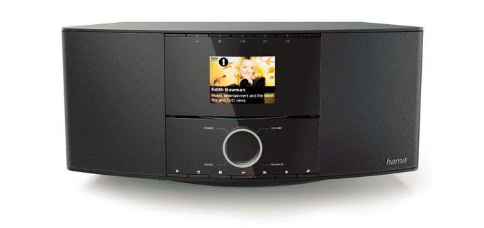 Das DIR3500MCBT von Hama kann alles – zur Ausstattung gehören unter anderem ein CD-Player sowie Bluetooth-Streaming und App-Steuerung.