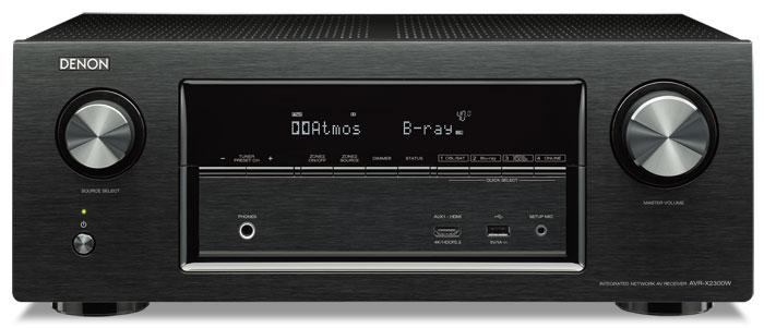 Zum Jahresende möchte Denon HDR-Firmware-Updates mit HLG- und Dolby-Vision-Unterstützung für die Modelle AVR-X1300W (Bild), AVR-X2300W, AVR-X3300W, AVR-X4300H und AVR-X6300H anbieten.