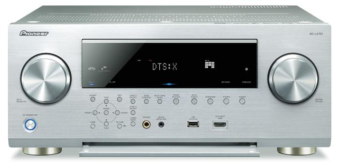 1.700 Euro: Der SC-LX701 ist Pioneers günstigster Receiver mit 9 Endstufen. Dank 3D-Sound und digitalen Leistungsverstärkern steht er seinen teureren Brüdern kaum nach.