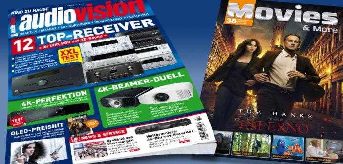 Die neue audiovision 3-2017 jetzt am Kiosk