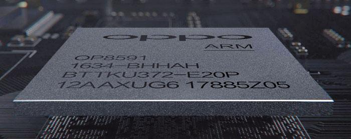 Der Quad-Core-Chip OP8591 wurde von Mediatek in Zusammenarbeit mit OPPO entwickelt und beherrscht die Wiedergabe von Dolby Vision.