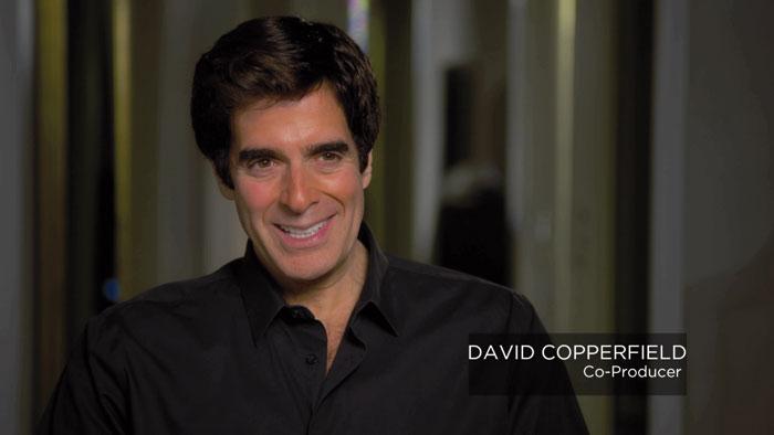 """Im Bonusmaterial kommt mit David Copperfield, der bei dem Film als Co-Produzent fungierte, auch ein """"echter"""" Zauberer zu Wort."""