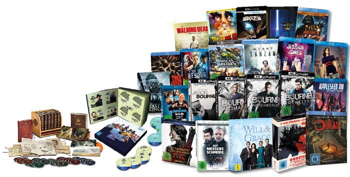 Alle wichtigen DVD- und Blu-ray-Veröffentlichungen werden von uns auf ihre Bild- und Tonqualität geprüft. Wenn Sie gerne Filme, TV-Serien oder Musikkonzerte schauen, sind Sie bei uns genau richtig.