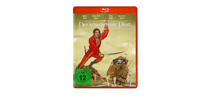 Der scharlachrote Pirat Blu-ray