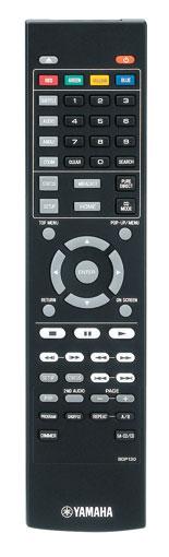 Fernbedienung des Yamaha BD-A1060