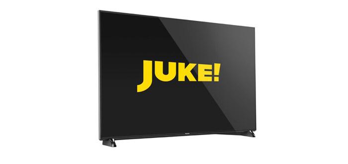 JUKE-App ab sofort auch auf Panasonics Smart TVs verfügbar