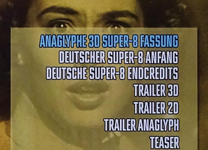 Für die 3D-Betrachtung der Super-8-Fassung benötigt man eine passende Anaglyphenbrille.