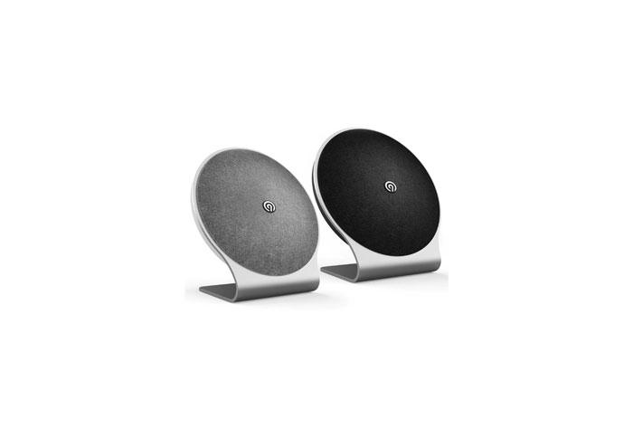 ninetec kosmo bluetooth speaker mit touch bedienung und aluminium design audiovision. Black Bedroom Furniture Sets. Home Design Ideas