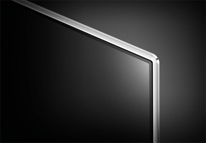 Ein Hauch OLED: Der extrem dünne Bildschirm von LGs Top-LCD-TV erinnert an die organischen Modelle, kommt im Gegensatz zu diesen aber nicht ohne Backlight aus.