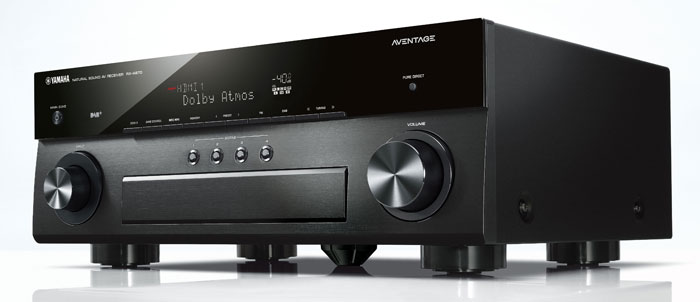 yamaha erneuert lineup seiner aventage av receiver. Black Bedroom Furniture Sets. Home Design Ideas