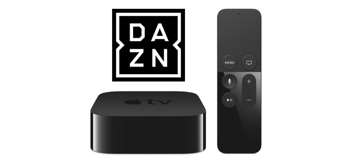 how to add dazn to apple tv