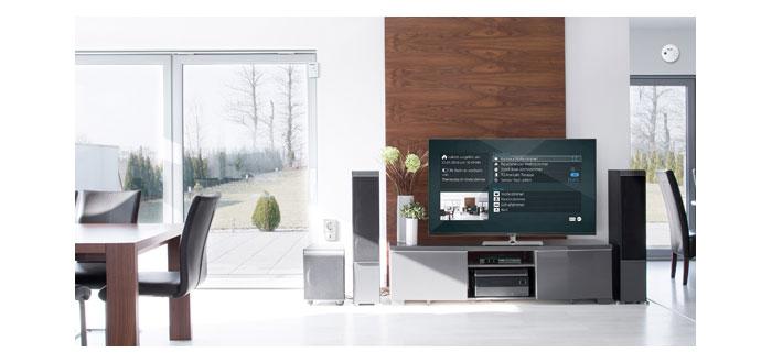 technisat digipal smart home macht ab sofort den fernseher zur smart home zentrale audiovision. Black Bedroom Furniture Sets. Home Design Ideas
