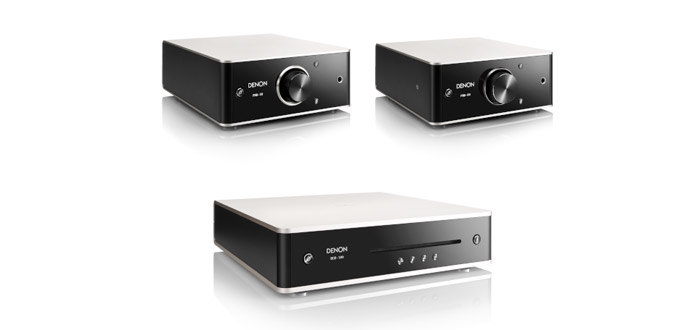 elegant kompakt denon stellt neue verst rker und cd player der design serie vor audiovision. Black Bedroom Furniture Sets. Home Design Ideas