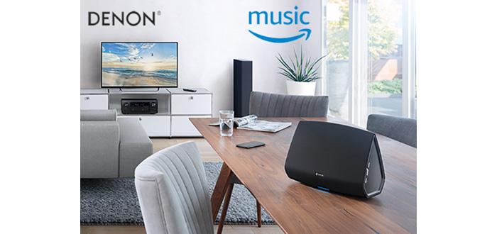 Amazon Music jetzt für HEOS verfügbar
