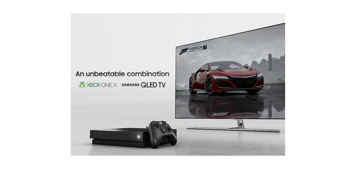 Xbox ONE X QLED TV Promotion