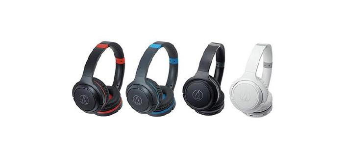 Over-Ear-Kopfhörer ATH-S200BT sorgen für 40 Stunden Musikgenuss