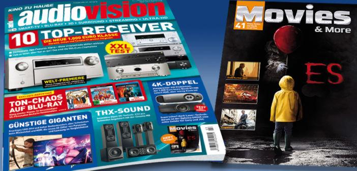 Die neue audiovision 3-2018 jetzt am Kiosk