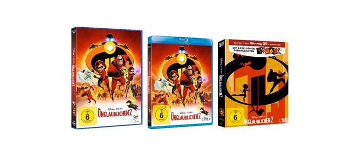 Die Unglaublichen 2″ – Ab 7. Februar 2019 auf Blu-ray, Blu-ray 3D und DVD