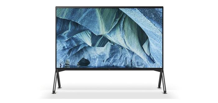 Sony kommuniziert Termin und Preise der ZG9 8K Fernseher