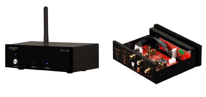 WTX-1100 Bluetooth-Receiver kombiniert Bedienkomfort, Flexibilität und akustische Performance