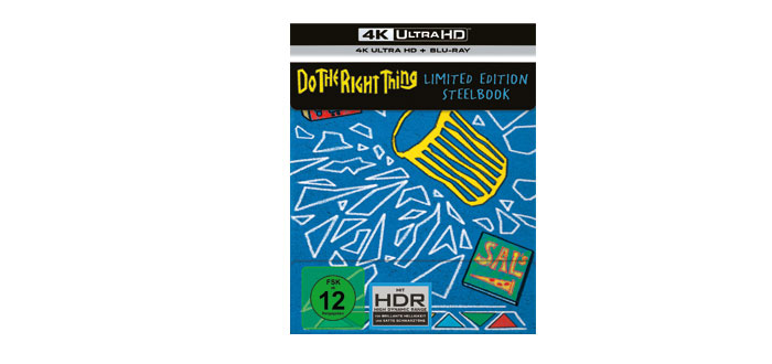 UHD-Blu-ray-Test: Do the Right Thing – 4K Limited Steelbook