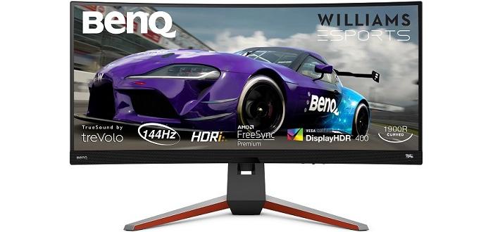 BenQ MOBIUZ EX3415R: Das Curved Display zur Steigerung der SimRacing-Performance