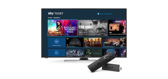 Sky Ticket in Deutschland jetzt auf weiteren Fire TV-Geräten verfügbar