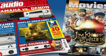 Die neue audiovision 8-2021 jetzt am Kiosk!